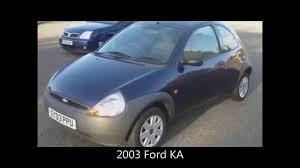 2003 ford ka 1 3 petrol in ink blue youtube