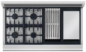 Thermador Cooktop With Griddle Kitchen Amazing Gas Cooktop With Grill And Griddle Stove Top