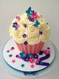 Easy Giant Cupcake Decorating Ideas 36 Best Cupcakes For Girls Images On Pinterest Tutorials Cup