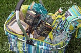 date gift basket ideas date picnic basket gift diy home decor and crafts