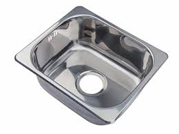 Kitchen Sinks Small Small Steel Inset Single Bowl Kitchen Sink A11 Mr Co Uk