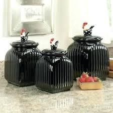 black kitchen canister sets black ceramic canister sets kitchen cumberlanddems us