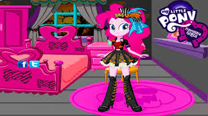 my little pony equestria girls pinkie pie halloween makeover