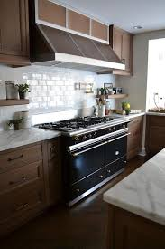 maple cabinets with white countertops maple cabinets with lacanche cluny cooking range contemporary