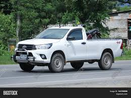 toyota area chiangmai thailand august 9 2016 private pickup car toyota hilux