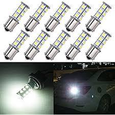 Led Auto Lights Amazon Com Hotsystem 12v 1156 7506 1003 1141 Led Smd 18 Led Bulbs