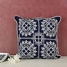 Large Tassels Home Decor by Navy Tassel Cushion Cover Buy Tassel Cushion Covers Online