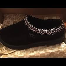 ugg tasman slippers on sale 55 ugg shoes ugg tasman black shoes slippers size 9 from