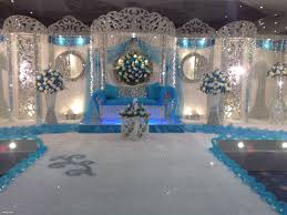 over decorations but kind pretty wedding reception