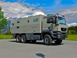 military trailer camper inside u0027doomsday u0027 camper monster mobile home holds 1 000 litres
