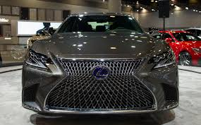 2018 lexus ls has a 2018 lexus ls 500h debuts in north america at the vancouver show