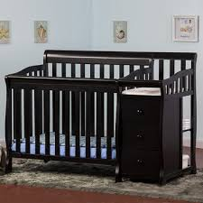 dream on me jayden 2 in 1 convertible baby crib with changer in