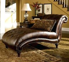 Leather Chaise Lounge Chairs Indoors Brown Leather Chaise Lounge U2013 Bankruptcyattorneycorona Com