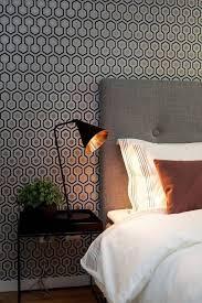 papier peint design chambre papier peint 10 papiers peints tendance pour la chambre côté