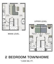 luxury townhome floor plans floor plans for msu students student housing in east lansing