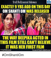 Meme Om - 25 best memes about om shanti om om shanti om memes