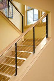 home interior railings wood and metal stair railing stupefy amazing indoor stairs home