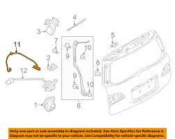 infiniti qx56 year changes infiniti nissan oem 11 13 qx56 liftgate tail tailgate trunk switch