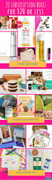 house beautiful subscription 20 subscription boxes 20 and under