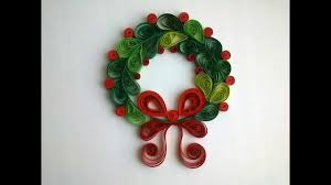 paper quilling make сhristmas quilling decorations youtube