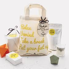 personalised pamper u0027thank you u0027 bag by fora creative