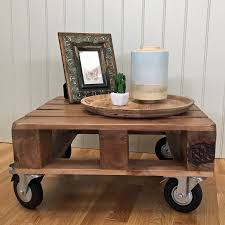 coffee table industrial coffee table on wheels rustic tables