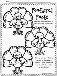 thanksgiving 1st grade editing printable magnet school writing