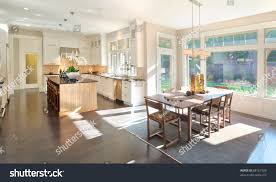 kitchen dining room panorama new luxury stock photo 88161520