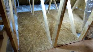 how to create storage space in your attic part 2 easy diy youtube