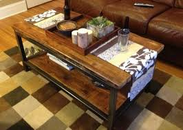 iron and wood side table amazing of iron and wood coffee table coffee table metal and wood