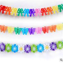 paper ribbons paper ribbon garland wholesale online paper ribbon garland