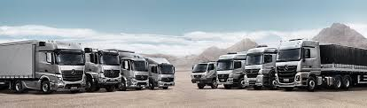 mercedes commercial trucks specification sheets