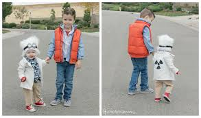 diy sibling halloween costume back to the future simply real moms