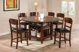 tall round dining table set awesome tall round dining table brilliant rustic for 8 and chairs