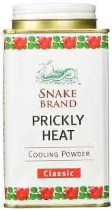 prickly heat powder snake brand 150 gram amazon co uk beauty