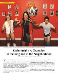 iwf wrestling newspaper and magazine feature stories