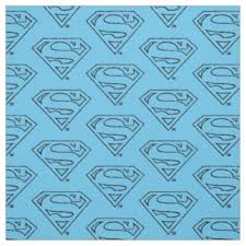 superman wrapping paper dc comics fabric zazzle co uk