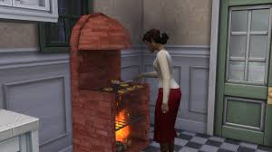 the sims 4 stove grill pizza oven and a fireplace all in one