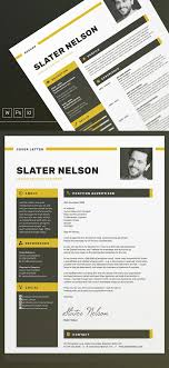 new resume templates new professional cv resume templates with cover letter design