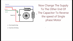 permanent split phase capacitor motor youtube wiring diagram