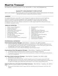 sample quality assurance resume download resume sample quality