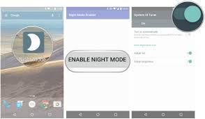 how to enable night mode on your nexus in android 7 0 nougat