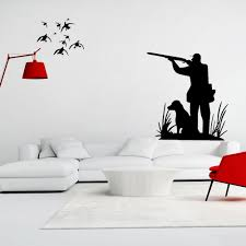 compare prices on wall mural hunting online shopping buy low removable wateproof hunting design wall sticker home art vinyl decal mural wall sticker china