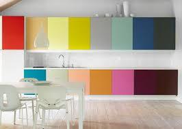 Modern Kitchen Cabinet Colors Wonderful Modern Kitchen Cabinet Colors Flat Fronts Rail Pulls