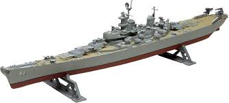 revell 1 535 scale uss missouri battleship plastic model kit