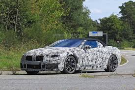spyshots bmw m8 convertible chased by pre launch m5 autoevolution