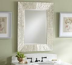 bathroom vanity mirrors pottery barn pertaining to architecture 3