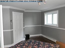 chambre grise et blanc deco peinture gris et blanc chambre grise noir peindre une en