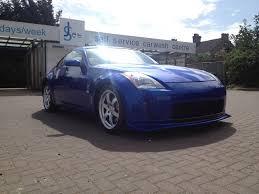 matte blue nissan 350z parello u0027s azure matte blue 3m 350z complete member build