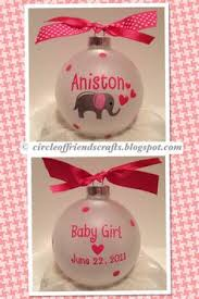 Christmas Ornaments Baby Personalized Baby First Christmas Ornament By Kreationsbycourtney